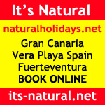 Natural Holidays naturist nudist naked holidays Spain Lanzarote Canaries