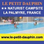 Le Petit Dauphin France naturist campsite nudist naked holidays
