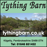 Tything Barn naturism nudism holidays camping wales pembrokeshire