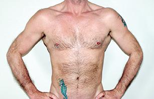 Gym-fit male naturist masseur Gay Naturist Peterborough