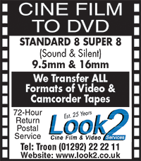 Look2 Cine film services naturist video camcorder DVD