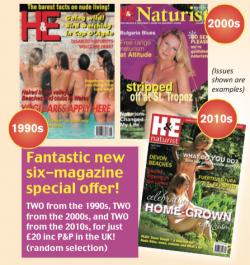 H&E naturist magazine Decade Special Offer