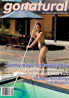 gonatural 232 New Zealand naturist magazine