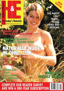 H&E naturist magazine October 1999