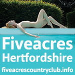 Fiveacres naturist club Hertfordshire nudist camping holidays uk
