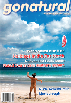 gonatural New Zealand naturist magazine 233