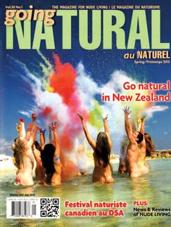 Going Natural Canada Naturist Magazine Spring 2015