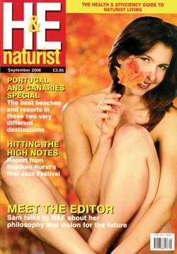 H&E naturist magazine September 2008