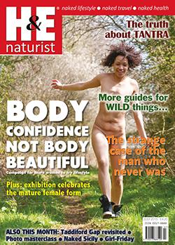 H&E naturist magazine July 2015