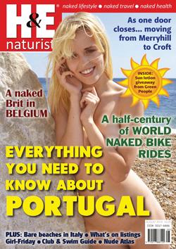 H&E naturist magazine August 2015