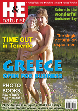 H&E naturist magazine September 2015 issue
