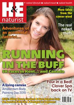 H&E November 2015 naturist magazine