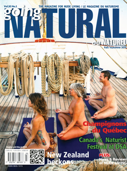 Going Natural Canada Nudist Naturist Magazine Fall 2015