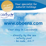 Obona Oboena Germany naturist nudist holidays Spain Lanzarote Croatia