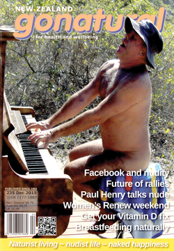 Gonatural New Zealand Naturist Magazine 235