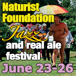 Naturist Foundation Jazz and Real Ale Festival naturism Kent