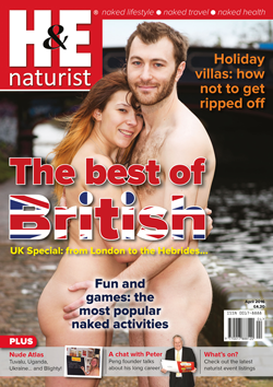 H&E naturist magazine health efficiency April 2016
