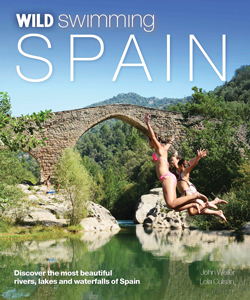 Wild Swimming Spain travel guidebook skinny dipping
