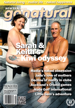 gonatural 236 naturist magazine nudist New Zealand