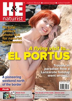 H&E health efficiency July 2016 magazine nudist naturist