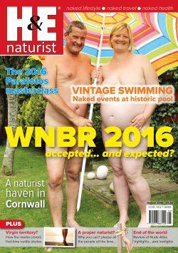 H&E naturist magazine August 2016 health efficiency