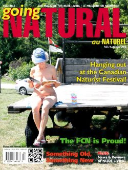 Going Natural Canada Naturist Magazine Fall 2016