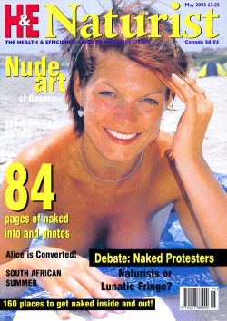 H&E naturist (Health & Efficiency) May 2003