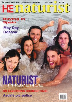 H&E naturist (Health & Efficiency) July 2004