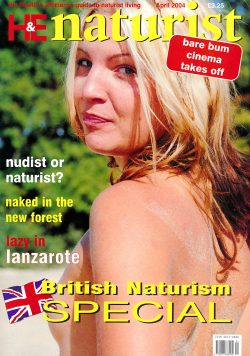 H&E naturist (Health & Efficiency) April 2004