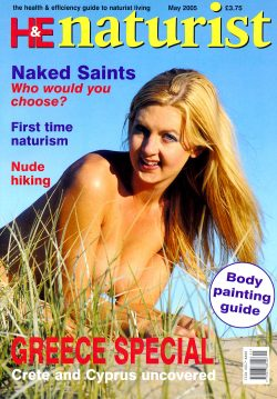 H&E naturist (Health & Efficiency) May 2005.