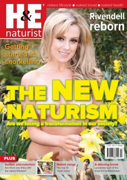 H&E March 2017 naturist magazine health efficiency nudism naked naturists
