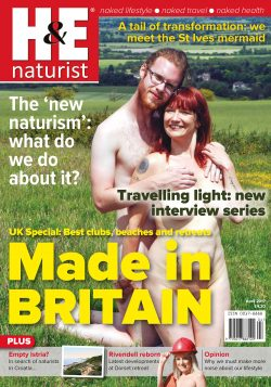 H&E April 2017 naturist magazine health efficiency nudism naked naturists