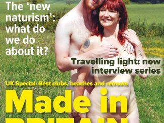 H&E April 2017 naturist magazine health efficiency nudism naked naturists
