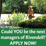 Rivendell managers naturist resort retreat new managers wanted dorset