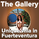 The Gallery Fuerteventura villa naturist holidays spain canaries