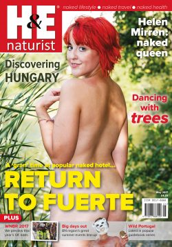H&E May 2017 naturist magazine health efficiency nudism naked naturists