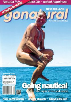 The official magazine of the New Zealand naturist federation, published June 2017.