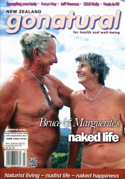 The official magazine of the New Zealand naturist federation, published September 2017.