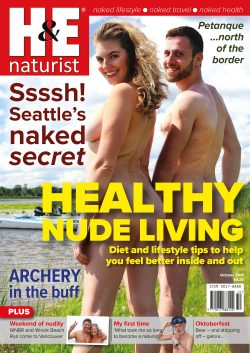 H&E October 2017 naturist nudist magazine health efficiency