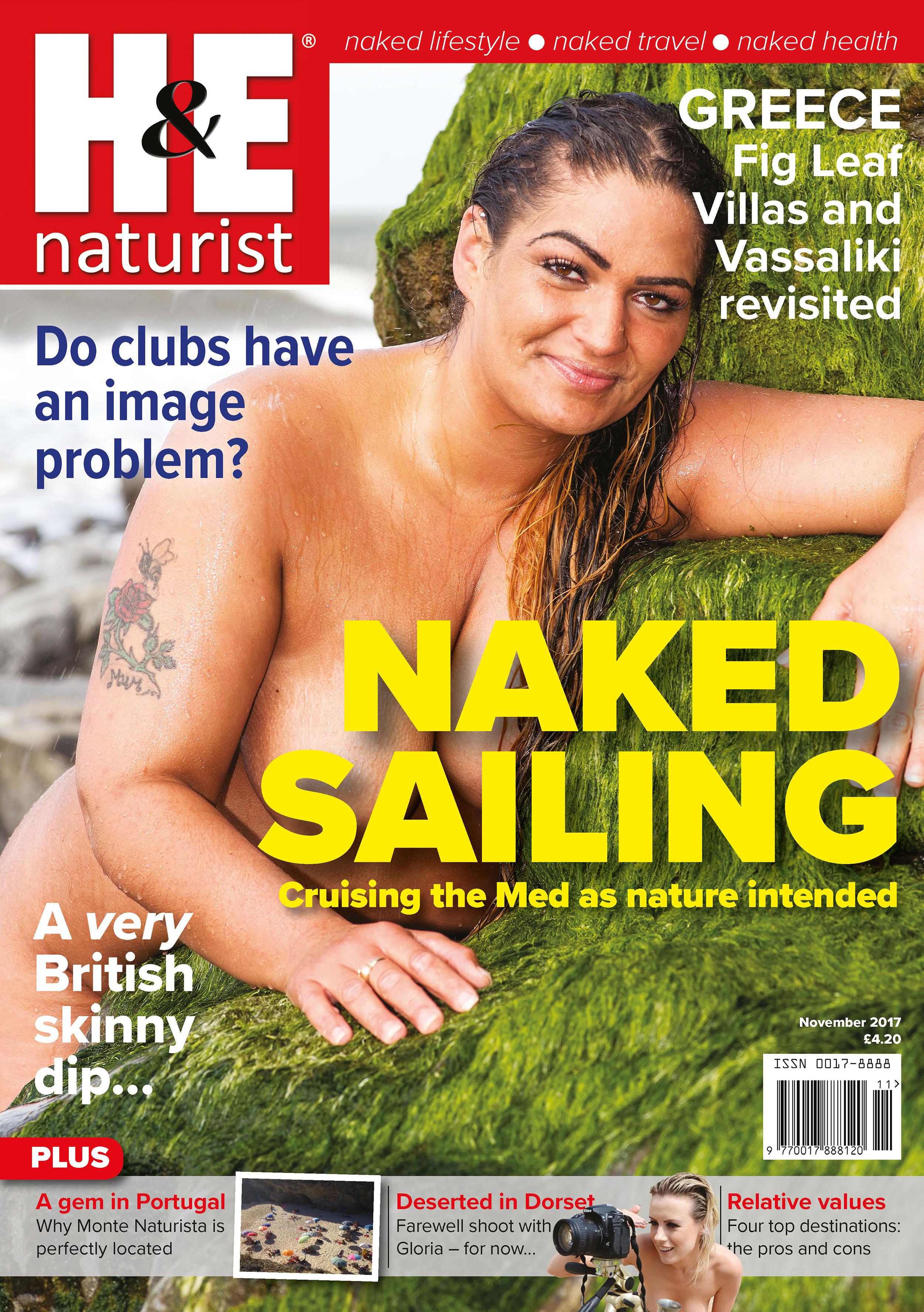 H&E naturist magazine November 2017