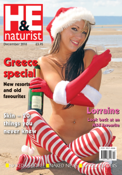 H&E December 2010 naturist nudist magazine health efficiency