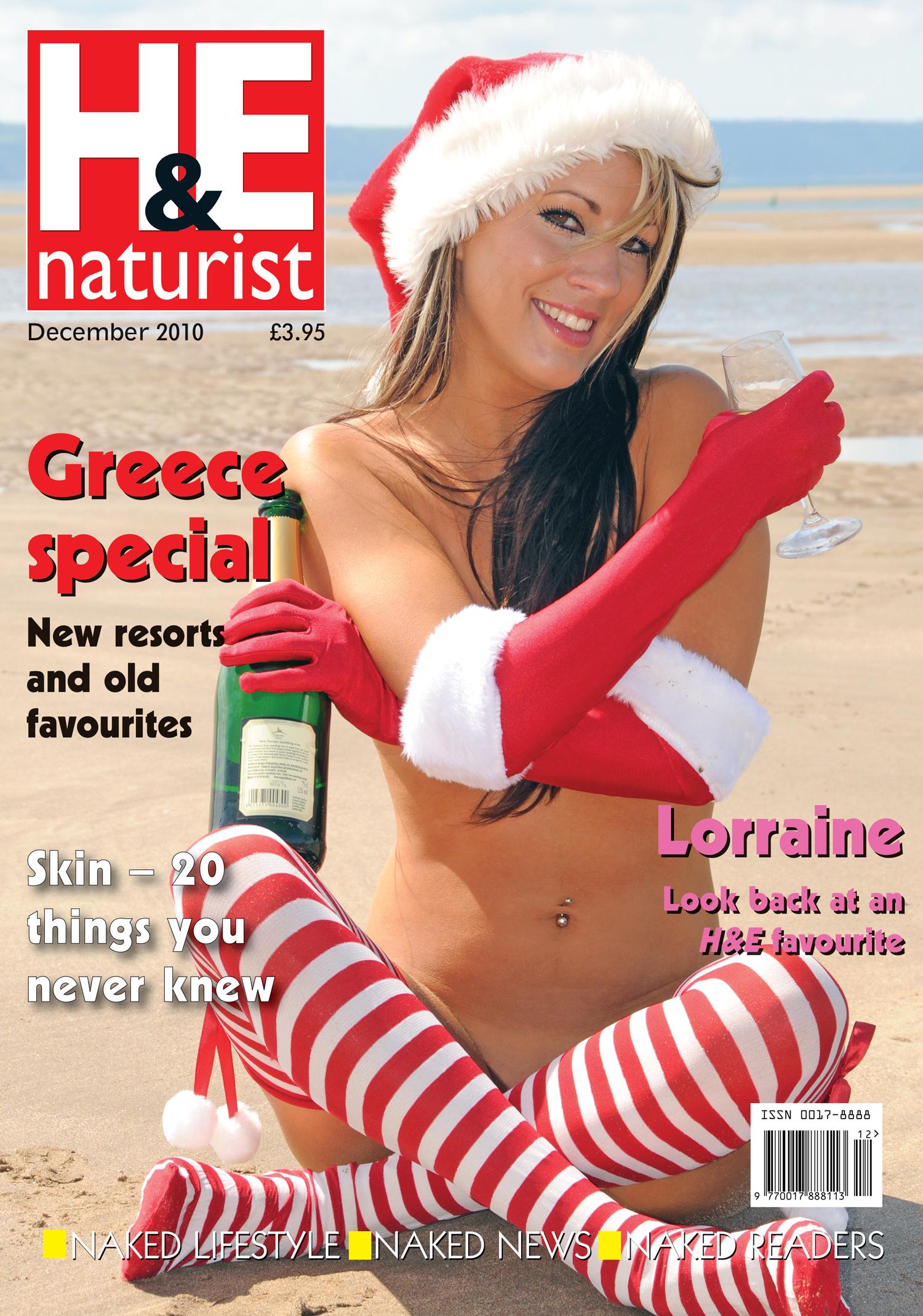H&E naturist magazine December 2010 - H&E naturist magazine