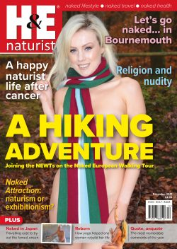 H&E December 2017 naturist nudist magazine health efficiency