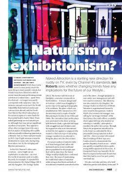 H&E December 2017 naturist nudist magazine health efficiency