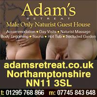 Adams Retreat gay male naturist nudist