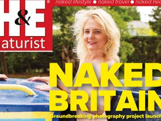 H&E January 2018 naturist nudist magazine health efficiency