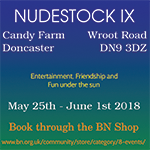 nudestocke naturist candy farm doncaster british naturism event nudist yorkshire
