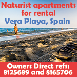 vera playa apartments owners direct naturist nudist holidays spain