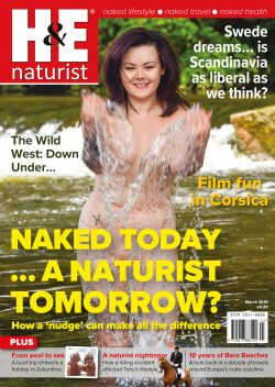 H&E March 2018 naturist nudist magazine health efficiency