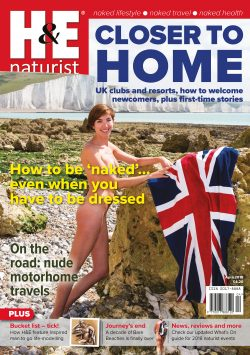 H&E April 2018 naturist nudist magazine health efficiency